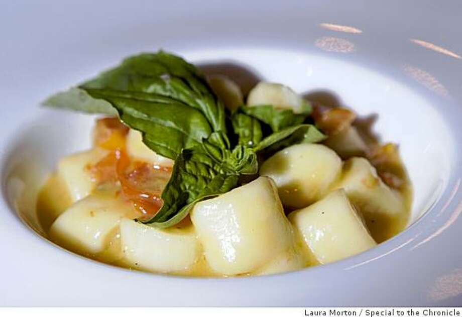 The gnocchi with orange and heirloom tomato sauce at at Poesia, an Italian restaurant in the Castro, in San Francisco , Calif., on Wednesday, November 26, 2008. Photo: Laura Morton, Special To The Chronicle