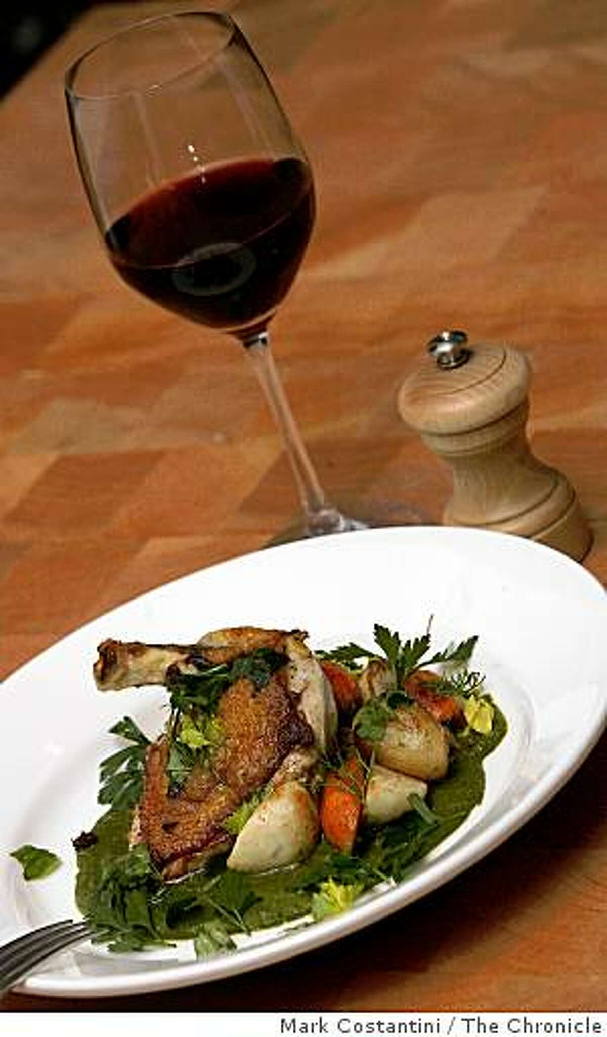 Guinea Hen is photographed at the Moss Room in San Francisco, Calif. on Tuesday, November 18, 2008.
