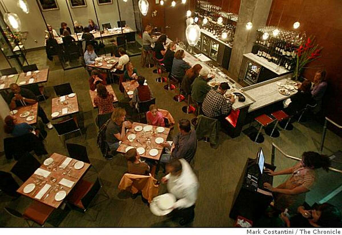 The interior of the Moss Room is photographed in San Francisco, Calif. on Monday, November, 10, 2008.