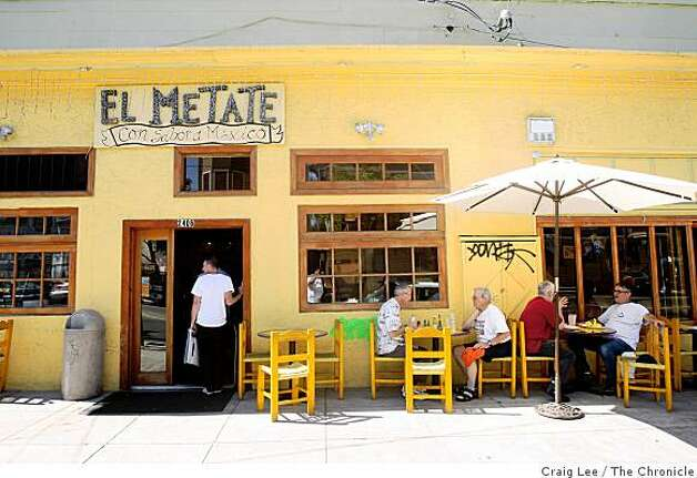 El Metate restaurant in San Francisco, Calif., on September 22, 2008. Photo: Craig Lee, The Chronicle