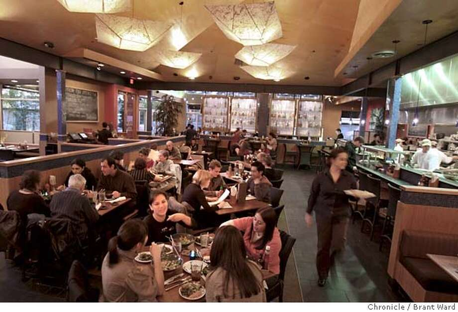 ###Live Caption:Pacific Catch features a large dining room next to the kitchen. A bar is located on the Lincoln St. side. Pacific Catch is located at 1200 Ninth Ave. in San Francisco. Photo by Brant Ward / San Francisco Chronicle###Caption History:Pacific Catch features a large dining room next to the kitchen. A bar is located on the Lincoln St. side. Pacific Catch is located at 1200 Ninth Ave. in San Francisco. Photo by Brant Ward / San Francisco Chronicle###Notes:###Special Instructions: Photo: Brant Ward
