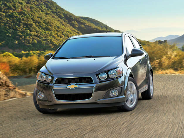 2012 Chevy Sonic (photo courtesy Chevrolet) Photo: GM / License Agreement - Please read the following important information pertaining to this image. This GM image is protected by copy