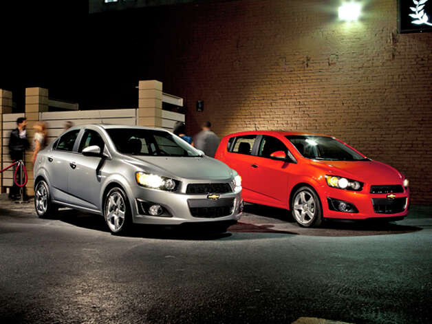 2012 Chevy Sonic (photo courtesy Chevrolet) Photo: GM / Brian Konoske 2011