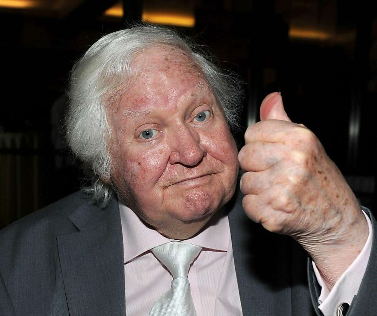 """BEVERLY HILLS, CA - MAY 21: (FILE PHOTO) Director Ken Russell, 84, has reportedly died on November 27, 2011. Please refer to the following profile on Getty Images Archival for further imagery of Ken Russell http://www.gettyimages.co.uk/Search/Search.aspx?EventId=134305207&EditorialProduct=Archival Director Ken Russell attends the Academy of Motion Picture Arts and Sciences (AMPAS) presents the 35th Anniversary of The Who's """"Tommy"""" on May 21, 2010 in Beverly Hills, California. (Photo by Frazer Harrison/Getty Images) Ran on: 11-29-2011 Ken Russells first big success was 1969s Women in Love."""