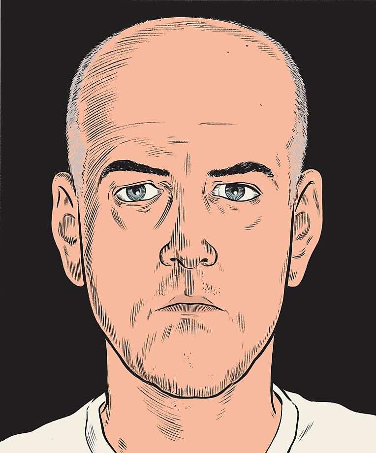 Dan Clowes' self-portrait Photo: Dan Clowes