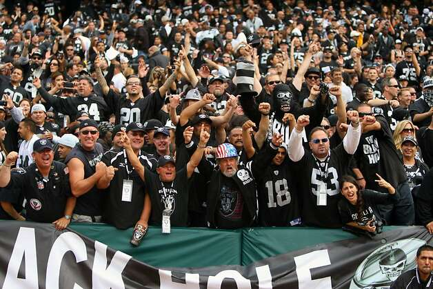Oakland Raiders Black Hole Section (page 3) - Pics about space