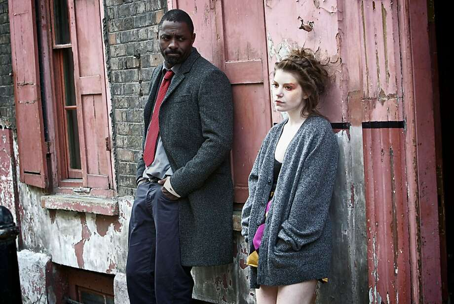 LUTHER SEQUEL Episode 2: DCI John Luther (Idris Elba) and Jenny Jones (Aimee-Ffion Edwards) Photo: Kerry Brown, BBC
