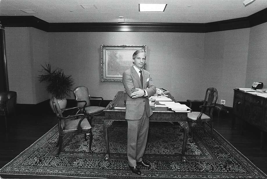 ROBERTS/18NOV85/MN/EL - George Roberts, in his San Francisco office.  Photo by Eric Luse Photo: Eric Luse, The Chronicle