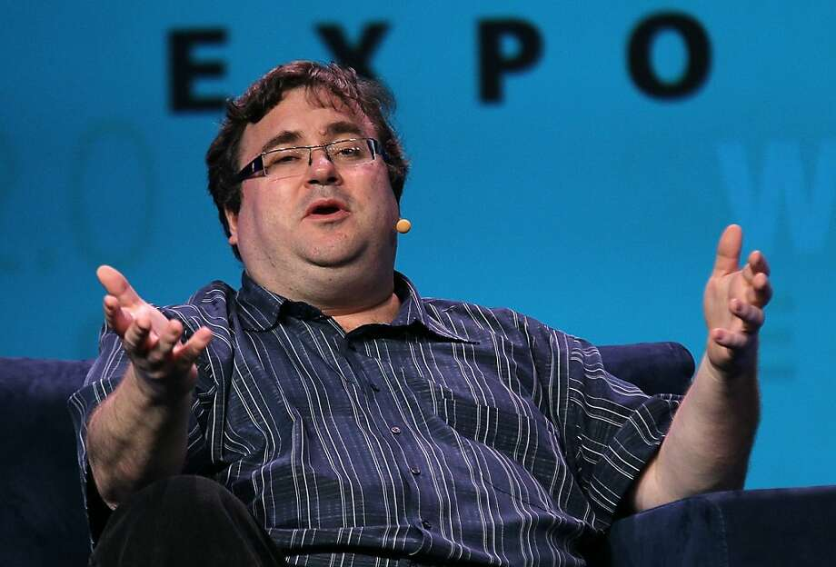 SAN FRANCISCO, CA - MARCH 30:  LinkedIn Executive Chairman and co-founder Reid Hoffman speaks at the Web 2.0 Expo on March 30, 2011 in San Francisco, California. Reid Hoffman was one of several top named speakers during an afternoon keynote session at the Web 2.0 Expo. (Photo by Justin Sullivan/Getty Images) Photo: Justin Sullivan, Getty Images