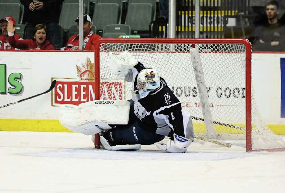 Rampage goalie Dov Grummet-Morris was recently acquired to joint the 2011 team. Photo: COURTESY SA RAMPAGE
