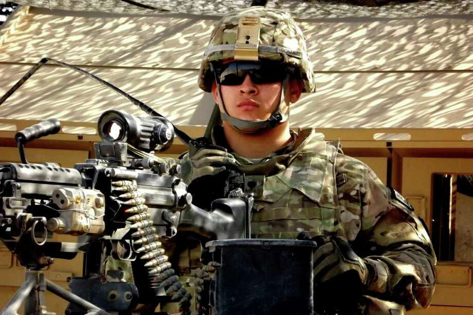As Military City, U.S.A., we're especially proud of our men and women in uniform. Photo: Sgt. Thomas Duval, U.S. Army Photo / Public Domain