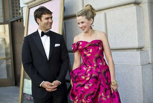 Marissa Mayer with cool, Husband Zachary Bogue