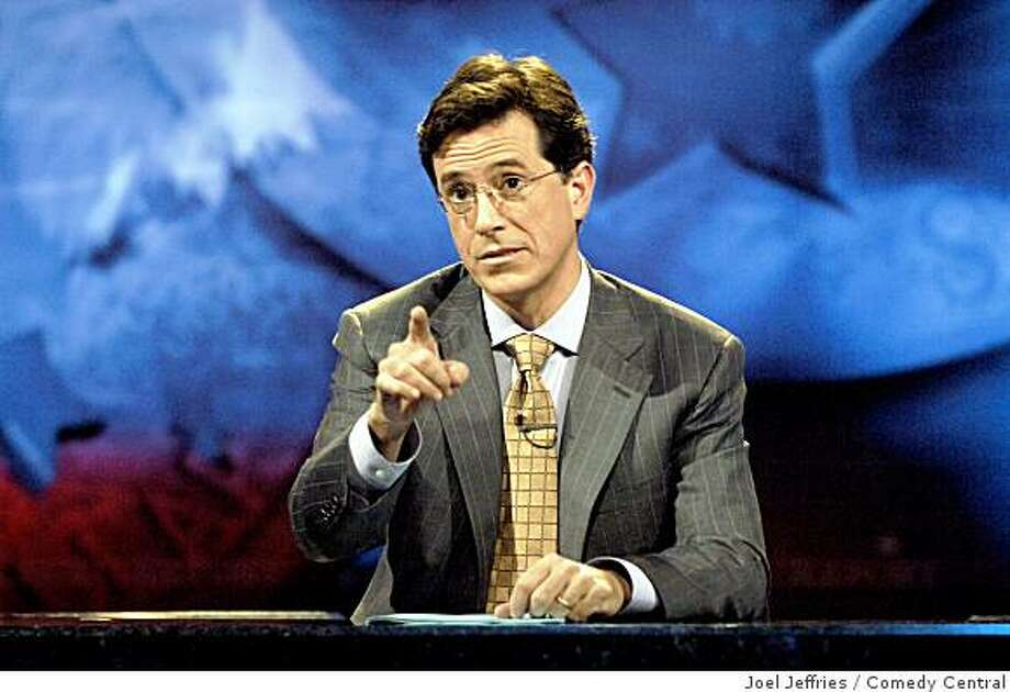 Comedy Central's  THE COLBERT REPORT debuts Monday, October 17 at 11:30 p.m. Photo: Joel Jeffries, Comedy Central