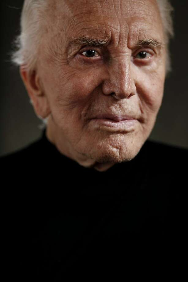 "Actor Kirk Douglas, 94, sits for a portrait in his Beverly Hills home on Tuesday June 21, 2011 in Beverly Hills, Calif. Douglas will be honored at the San Francisco Jewish Film Festival this summer with the Freedom of Expression award at a special 50th anniversary showing of ""Spartacus."" Photo: Mike Kepka, The Chronicle"
