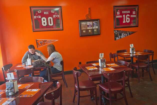 The interior of Frisco Fried restaurant in San Francisco, Calif., is seen on Monday, August 29th,  2011. Photo: John Storey, Special To The Chronicle