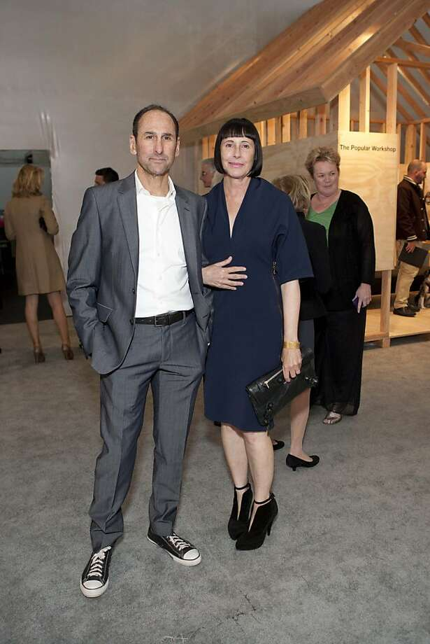 Co-chairman and creative director at Goodby, Silverstein & Partners, Rich Silverstein has made a career of creating ad campaigns for famous clientele including including Google, Chevrolet, YouTube, got milk?, NBA, Cisco, and Motorola, among others. Silverstein and his wife, SFMOMA trustee Carla Emil, live in Mill Valley and are fixtures on the city's art circuit.  Photo: Claudine Gossett For Drew Altize