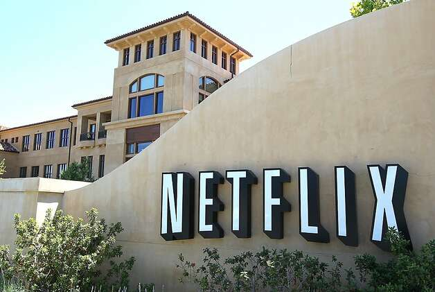 LOS GATOS, CA - FILE:  A sign stands in front of the Netflix headquarters on July 20, 2011 in Los Gatos, California.  Netflix announced September 15, 2011 that it expected to lose one million subscribers to its service after announcing a rate hike earlier this year.  Its stock has dropped over 15 percent since the announcement.  (Photo by Justin Sullivan/Getty Images) Photo: Justin Sullivan, Getty Images