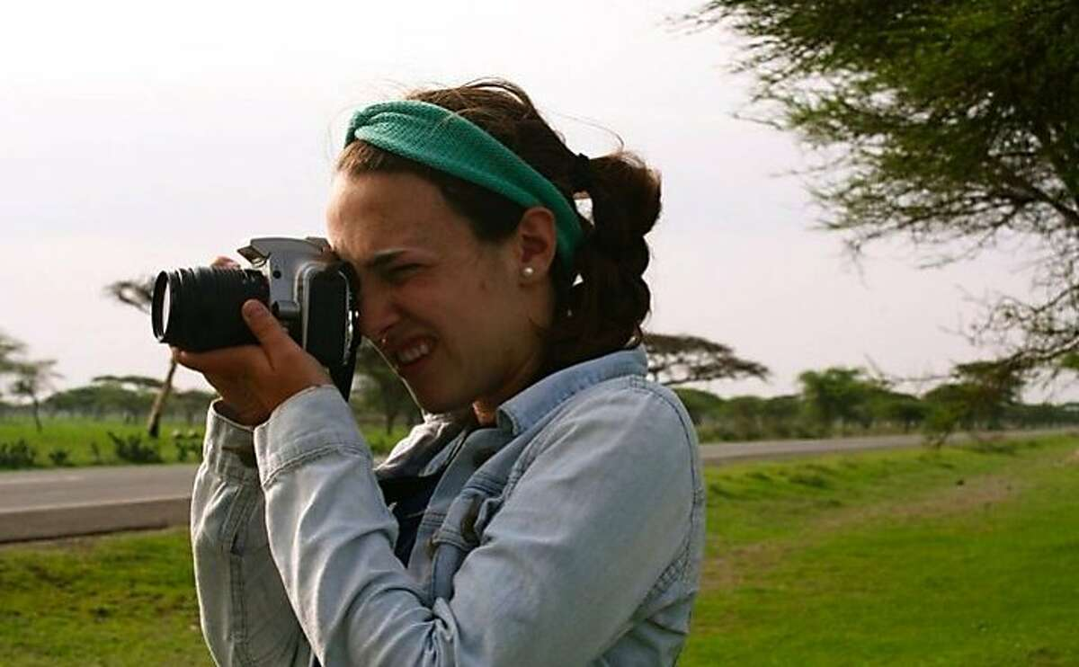 Sammy novick shooting scenery for her yearbook project last summer in Ethiopia.