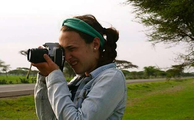 Sammy novick shooting scenery for her yearbook project last summer in Ethiopia. Photo: Stephanie Killpack