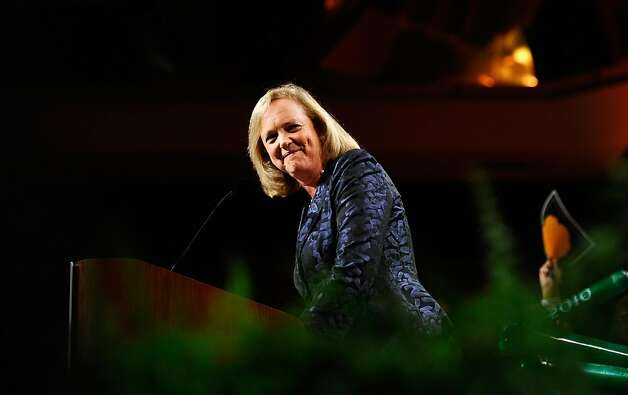 UNIVERSAL CITY, CA - FILE:  California Republican gubernatorial candidate and former eBay CEO Meg Whitman concedes the Governor's race to California Attorney General and Democratic candidate Jerry Brown during a campaign party on November 2, 2010 in Universal City, California. Former eBay CEO Meg Whitman was named CEO of Hewlett-Packard on September 22, 2011.  (Photo by Kevork Djansezian/Getty Images) Photo: Kevork Djansezian, Getty Images