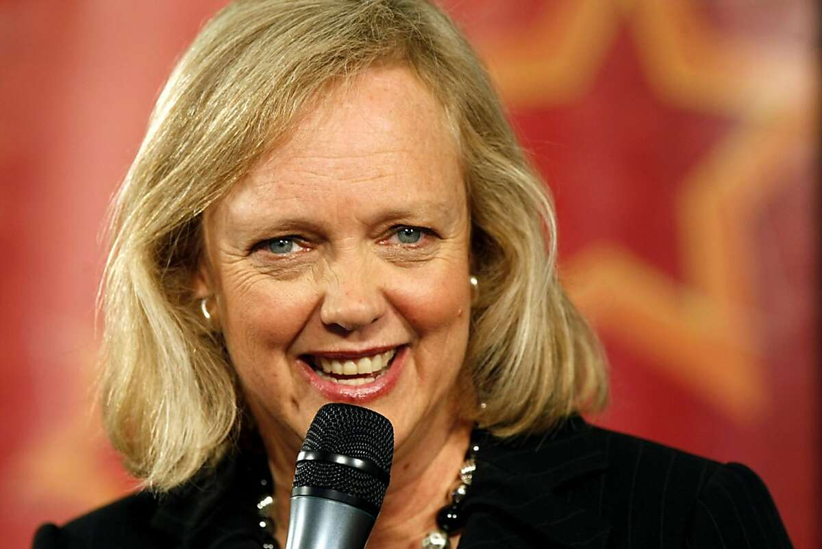 California Republican gubernatorial candidate Meg Whitman speaks during a campaign stop a Yelp headquarters in San Francisco, Wednesday, Sept. 15, 2010. Ran on: 09-16-2010 Meg Whitman defends her spending. Ran on: 09-16-2010 Meg Whitman defends her spending. Ran on: 12-31-2010 Meg Whitman wages an expensive and unsuccessful campaign. Ran on: 12-31-2010 Meg Whitman waged a costly and unsuccessful campaign.