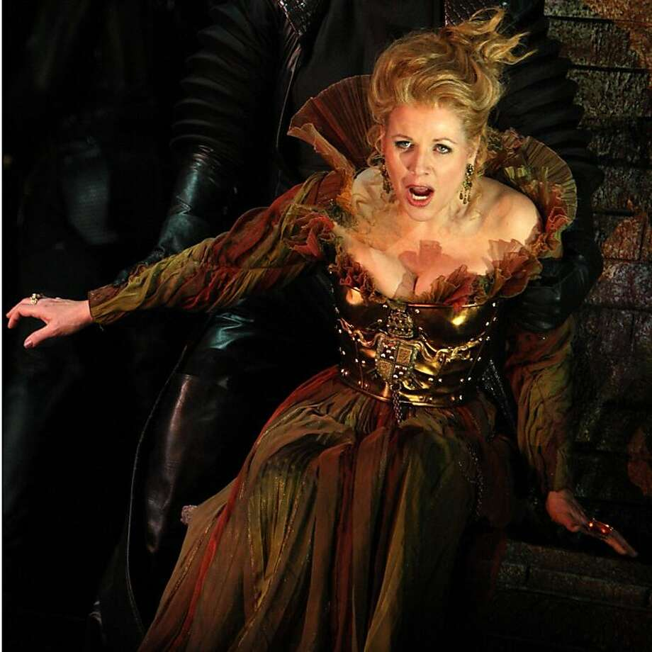 "Renee Fleming will sing the title role in the SF Opera production of ""Lucrezia Borgia."" She's shown above in the role for the Washington National Opera Photo: Karin Cooper, Courtesy SFOpera"