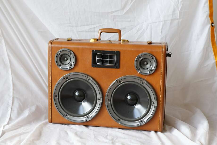 Paul Dillinger's Custom Boomcase portable suitcase stereo system  is seen in his San Francisco, Calif., home on Friday, Sep. 16, 2011. Photo: Russell Yip, The Chronicle