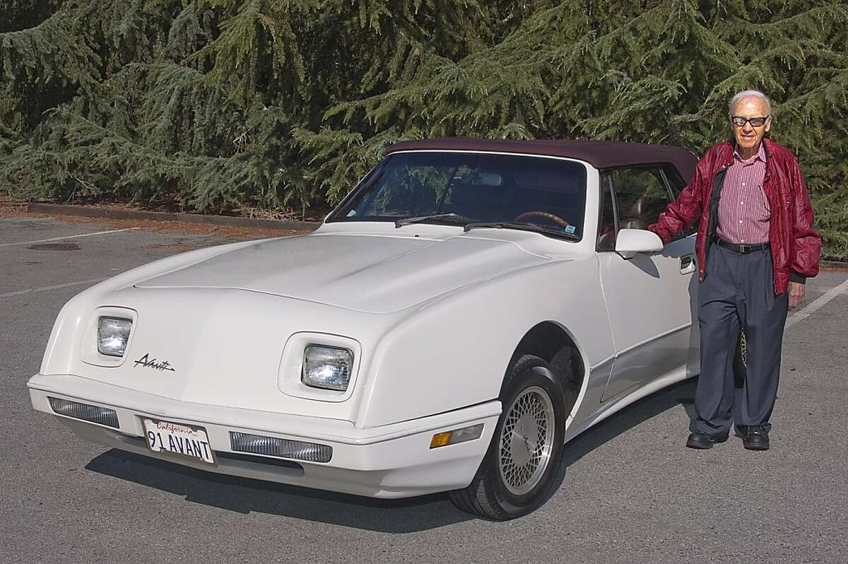 Sandy Kaye retired as executive vice president of the world's largest privately held publisher and is currently CEO of Porta-Bote International, a company that makes portable boats that fold to four inches flat. A native of New York City, he has lived in Atherton for the past 40 years. Photos of Sandy Kaye and his 1991 Avanti Convertible photographed in Holbrook Palmer Park in Atherton, CA on August 17, 2011