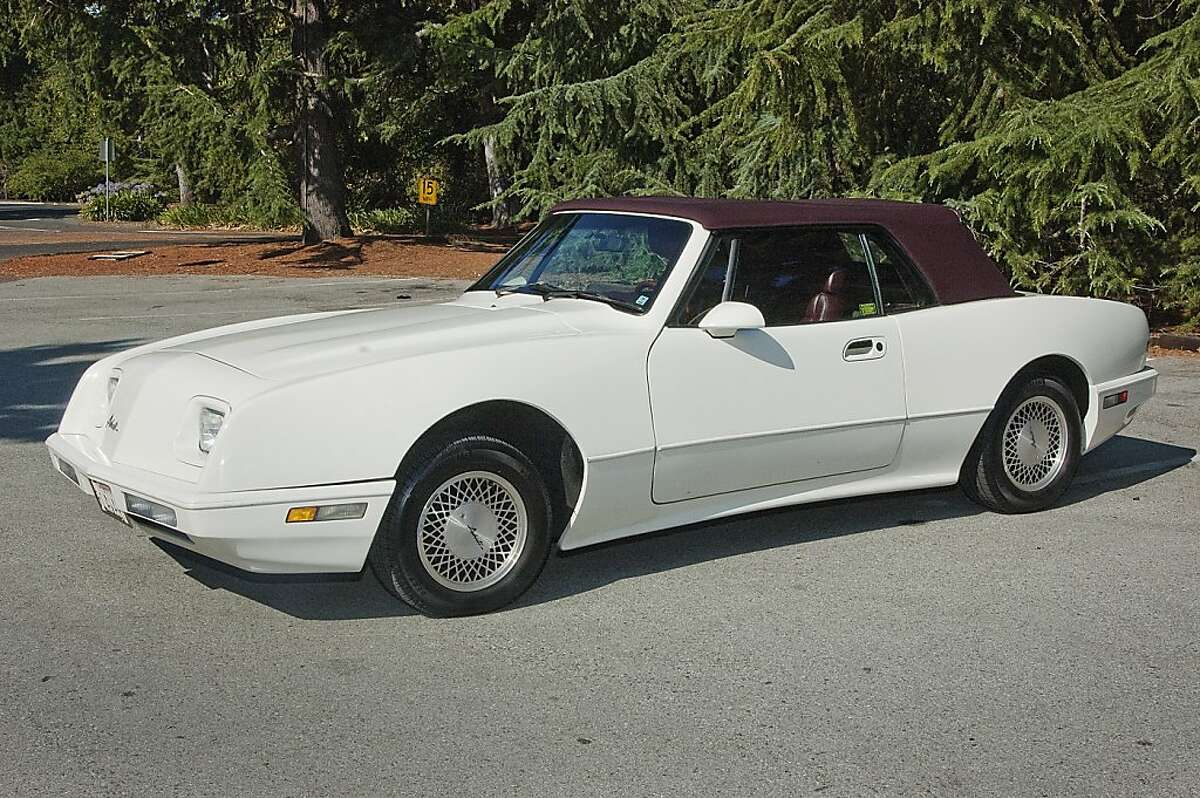 In April 1962 Studebaker introduced its two-door Avanti sports car, a coupe, to compete with GM's popular Corvette. The Avanti established numerous speed records and won the praise of the automotive community, but sales were hindered by production problems. Photos of Sandy Kaye and his 1991 Avanti Convertible photographed in Holbrook Palmer Park in Atherton, CA on August 17, 2011