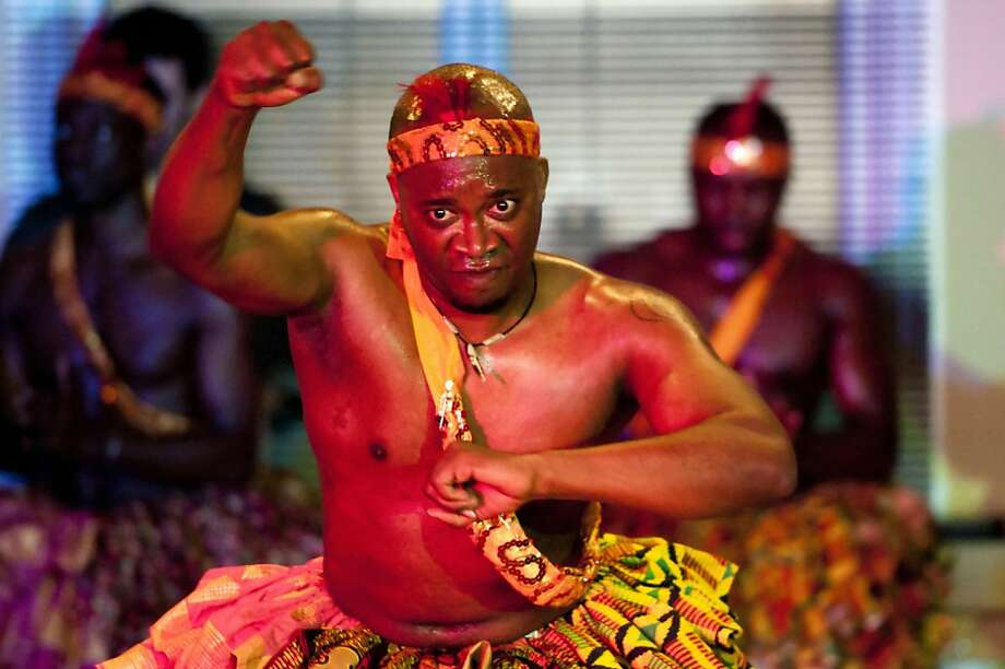 CK Ladzepko West African Music and Dance's Kwesi Anku. Photo: Cal Performances