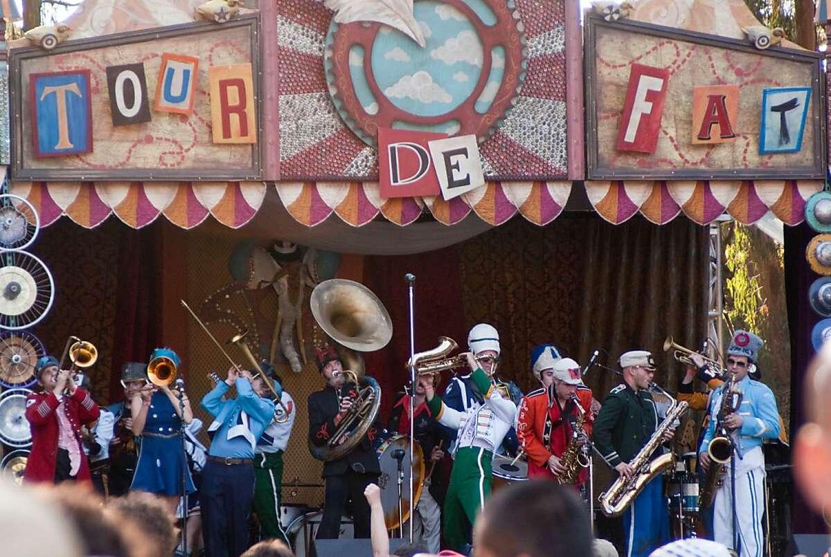Musicians perform at the 2010 Tour de Fat. SONY DSC