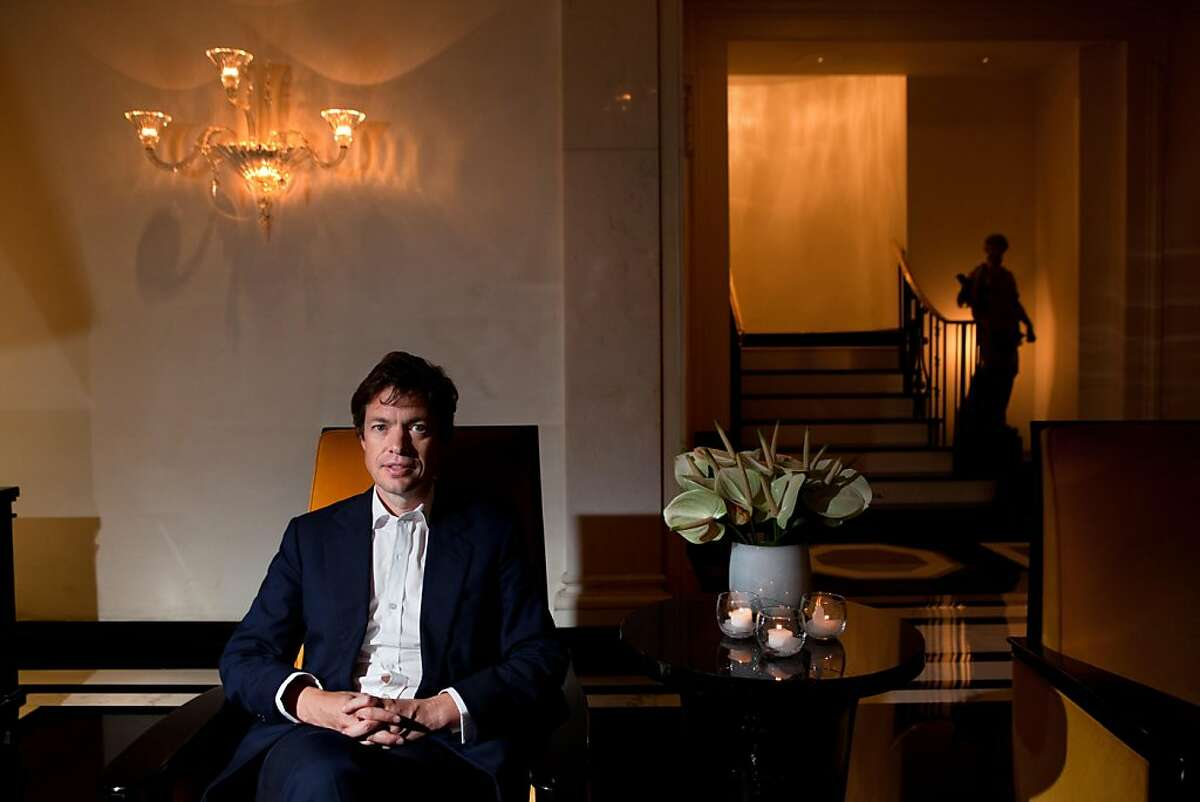 Nicolas Berggruen in the lobby at the Carlyle Hotel in Manhattan, NY on September 21, 2011. Nicolas Berggruen is the Chairman of Berggruen Holdings, a private company, which is the direct investment vehicle of The Nicolas Berggruen Charitable Trust. Through the Nicolas Berggruen Institute, an independent, non-partisan think tank, he encourages the study and design of systems of good governance suited for the 21st century. Mr. Berggruen is a board director of Zewail City of Science and Technology, Egypt; a member of the Council on Foreign Relations and the Pacific Council on International Policy.