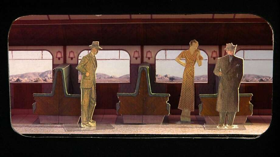 "Scenic design model by Daniel Ostling for ACT's production of ""Once in a Lifetime"" Photo: American Conservatory Theater"