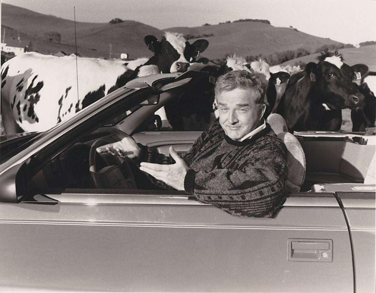 Bob MacKenzie, a longtime KTVU news reporter who died on September 22, 2011, was a favorite of viewers for decades. This image is from one of his cross-country road trips, a source for several sets of stories.