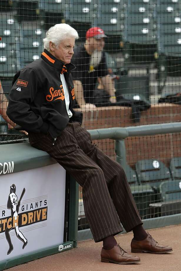 In this June 25, 2010, photo, San Francisco Giants managing general partner Bill Neukom watches the teams prepare for a baseball game between the Boston Red Sox and the Giants in San Francisco. Neukom is retiring as the controlling owner of the baseball team at the end of the calendar year. President Larry Baer will succeed him as chief executive officer. (AP Photo/Jeff Chiu)  Ran on: 09-18-2011 Bill Neukom reportedly wanted more money to run the team than other partners thought he should get. Photo: Jeff Chiu, AP