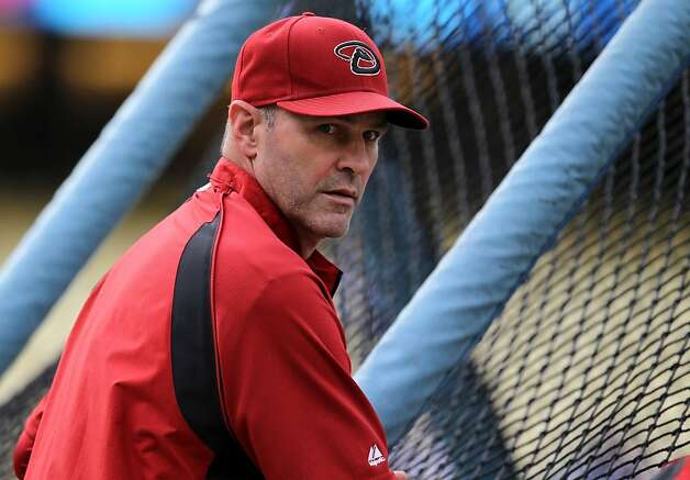 LOS ANGELES, CA - SEPTEMBER 13:  Manager Kirk Gibson of the Arizona Diamondbacks watches batting practice before the game with the Los Angeles Dodgers on September 13, 2011 at Dodger Stadium in Los Angeles, California. (Photo by Stephen Dunn/Getty Images) Photo: Stephen Dunn, Getty Images