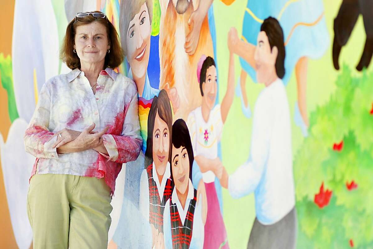 Sr. Christina Heltsley is the executive director of the St. Francis Center in Redwood City, Calif.