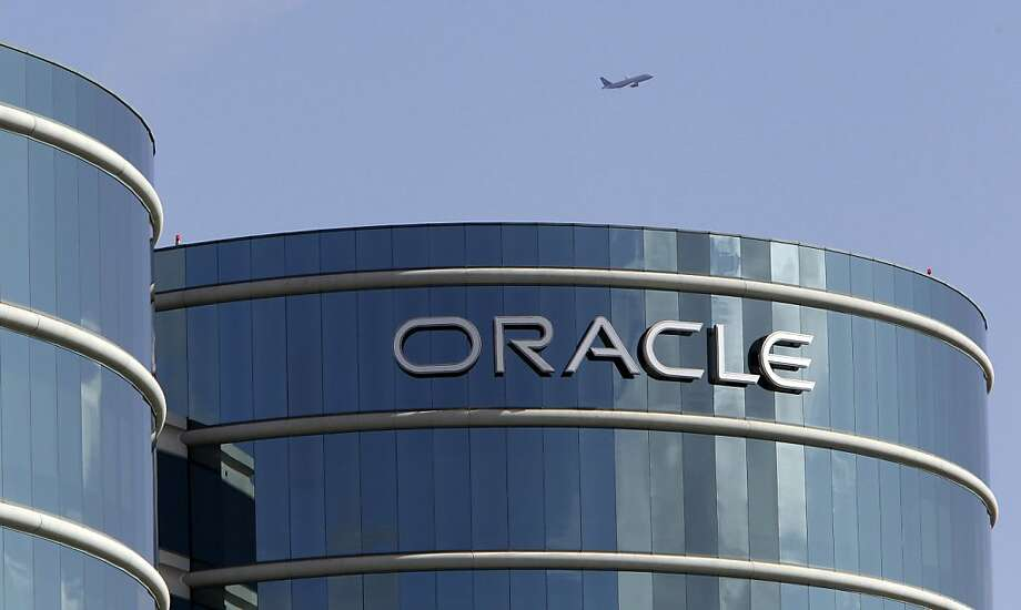 FILE - This March 22, 2011 file photo, the exterior of Oracle headquarters in Redwood City, Calif. Oracle Corp. is scheduled to report quarterly financial results Tuesday, Sept. 20, 2011, after the market close.(AP Photo/Paul Sakuma, File) Photo: Paul Sakuma, AP