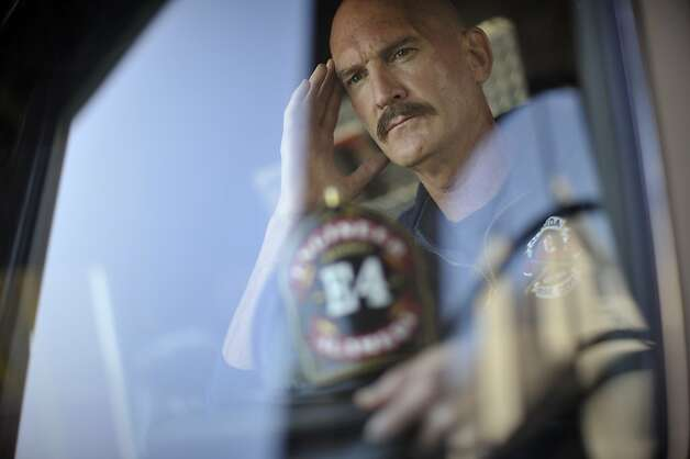 Dennis Brody, now retired, was a firefighter with the city of Alameda and has suffered for years with severe tinnitus. He still occasionally visits the Station 4, where he spent most of his time. Photo: Special To The Chronicle