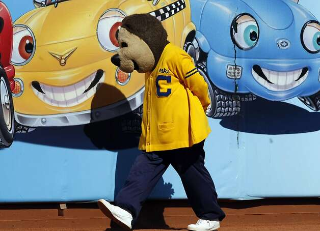 University of California mascot Oski walks the sidelines during their game with the Presbyterian Blue Hose Saturday September 17, 2011 at AT&T Park in San Francisco California. Cal won 63-12. Photo: Lance Iversen, The Chronicle