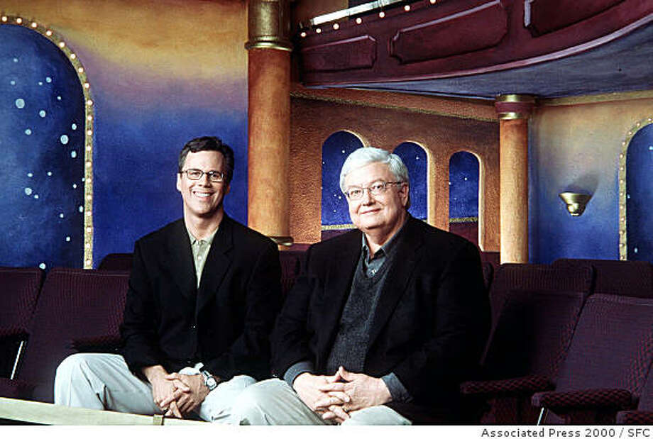 Roger Roeper and Roger Ebert Photo: Associated Press 2000, SFC
