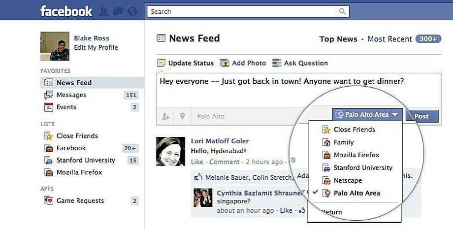 Facebook announces improvements to their Friends lists features. Photo: Facebook