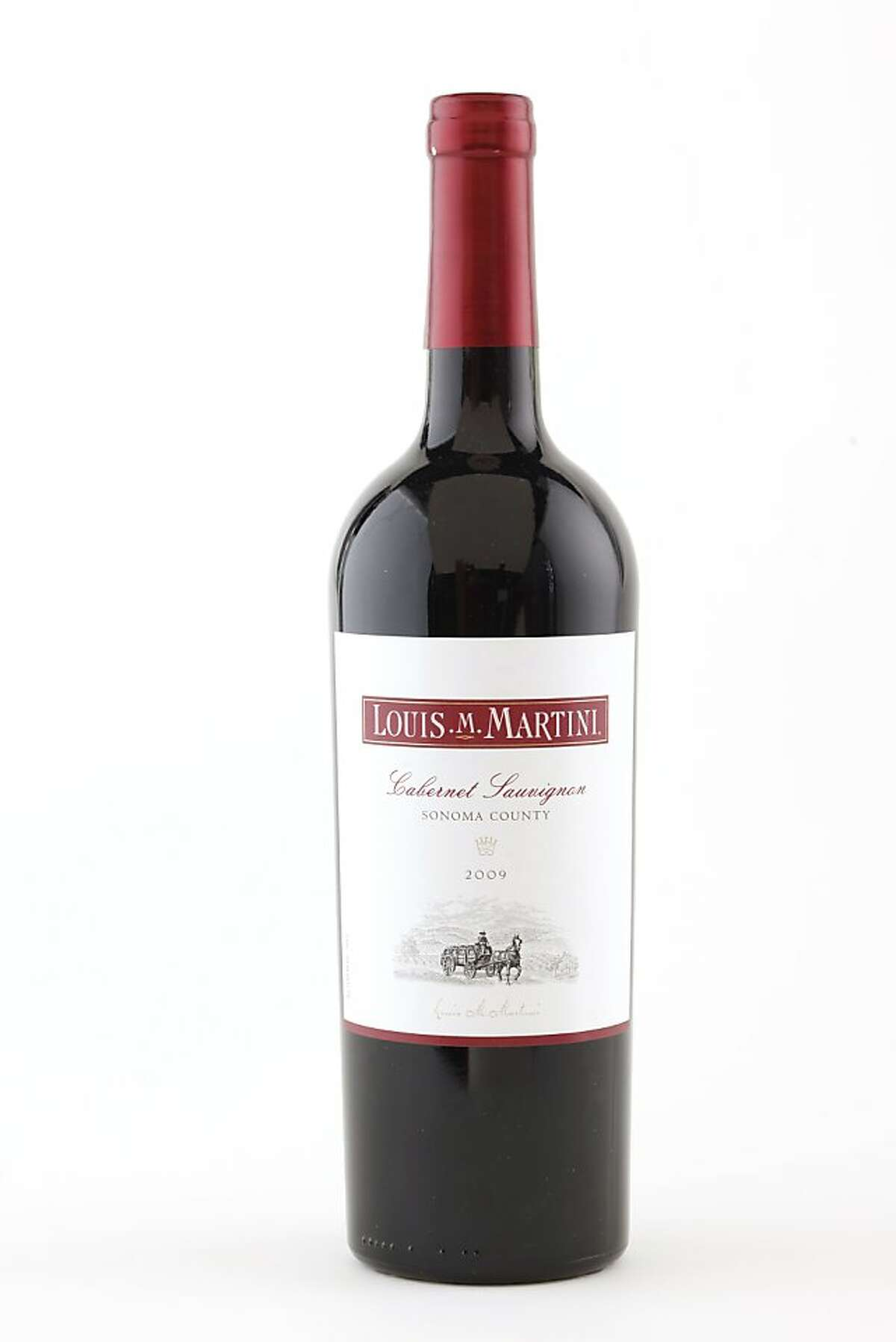 2009 Louis Martini Cabernet as seen in San Francisco, California, on Wednesday, September 7, 2011. Ran on: 09-18-2011 Photo caption Dummy text goes here. Dummy text goes here. Dummy text goes here. Dummy text goes here. Dummy text goes here. Dummy text goes here. Dummy text goes here. Dummy text goes here.###Photo: GRID18_louis_ph1315267200SFC###Live Caption:2009 Louis Martini Cabernet as seen in San Francisco, California, on Wednesday, September 7, 2011.###Caption History:2009 Louis Martini Cabernet as seen in San Francisco, California, on Wednesday, September 7, 2011.###Notes:###Special Instructions:MANDATORY CREDIT FOR PHOTOG AND SF CHRONICLE-NO SALES-MAGS OUT-INTERNET__OUT-TV OUT