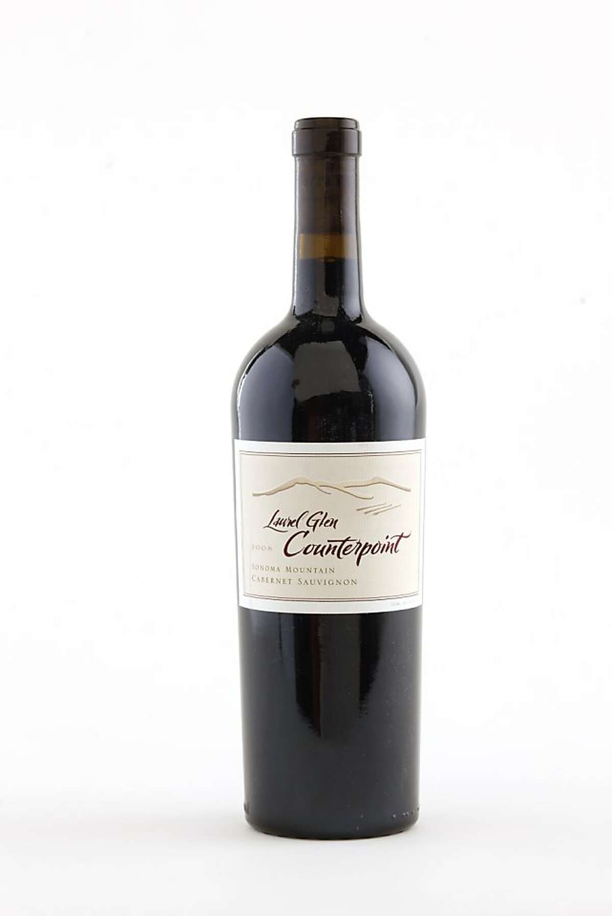 2008 Laurel Glen Counterpoint Cabernet as seen in San Francisco, California, on Wednesday, September 7, 2011. Ran on: 09-18-2011 Photo caption Dummy text goes here. Dummy text goes here. Dummy text goes here. Dummy text goes here. Dummy text goes here. Dummy text goes here. Dummy text goes here. Dummy text goes here.###Photo: GRID18_laurel_ph1315267200SFC###Live Caption:2008 Laurel Glen Counterpoint Cabernet as seen in San Francisco, California, on Wednesday, September 7, 2011.###Caption History:2008 Laurel Glen Counterpoint Cabernet as seen in San Francisco, California, on Wednesday, September 7, 2011.###Notes:###Special Instructions:MANDATORY CREDIT FOR PHOTOG AND SF CHRONICLE-NO SALES-MAGS OUT-INTERNET__OUT-TV OUT