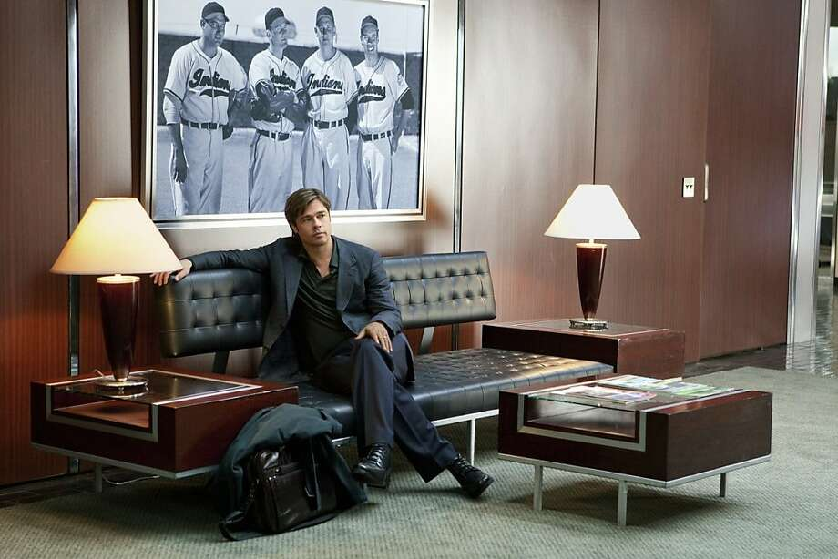 """""""Moneyball"""": Brad Pitt as Billy Beane Photo: Sony Pictures"""