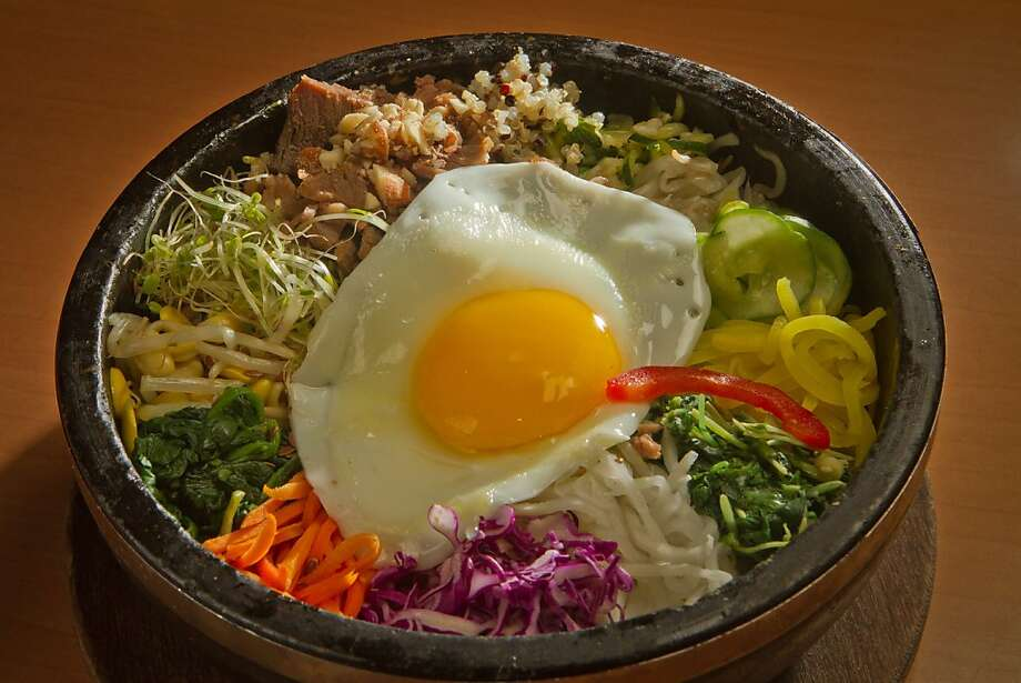 Bowl'd Korean Rice Bowl in Albany, Calif., is seen on August 30th, 2011. Photo: John Storey, Special To The Chronicle