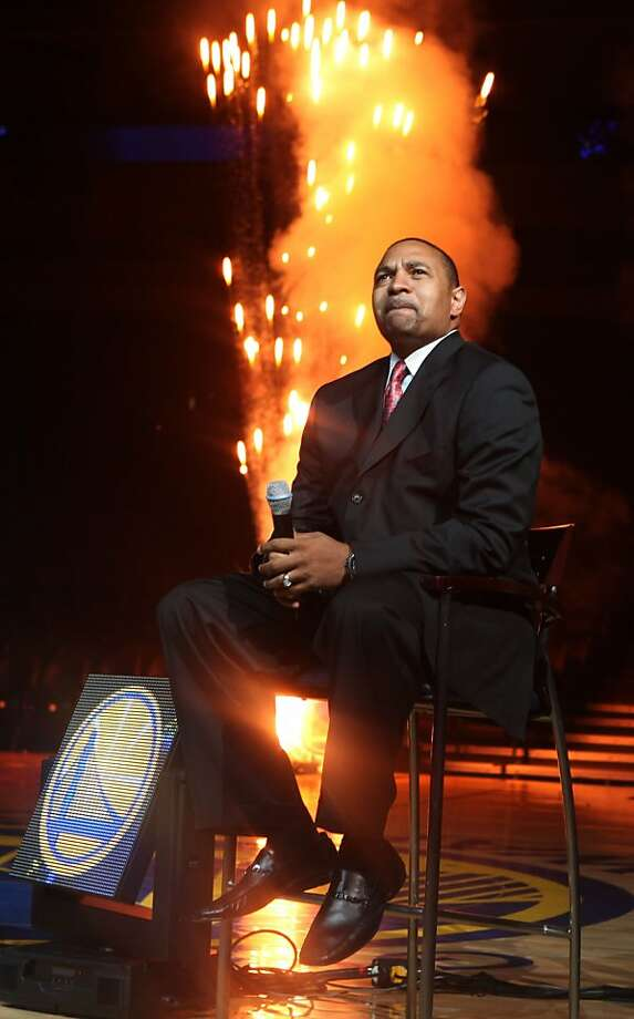 The Warriors host an event for season ticket holders with Warrior head coach Mark Jackson at the Oracle Arena in Oakland , Calif., on Wednesday, September 14, 2011. Photo: Liz Hafalia, The Chronicle