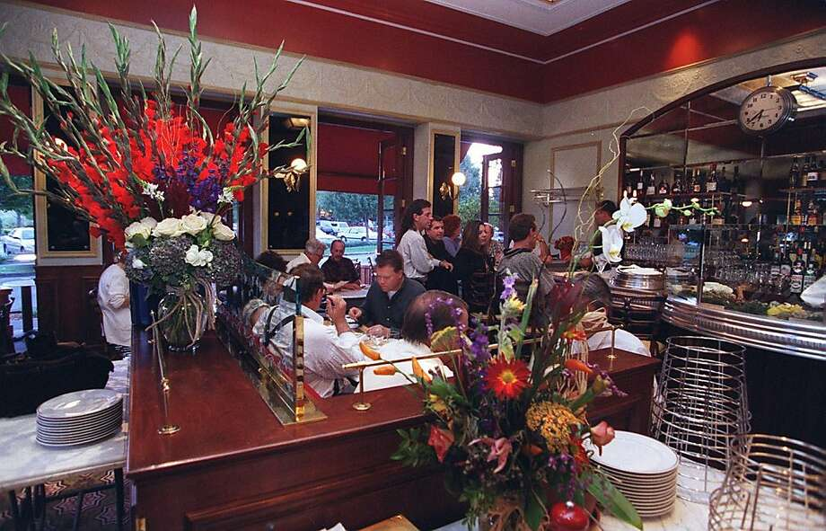 The dining room of Bouchon in Yountville. Photo: John O'Hara, The Chronicle
