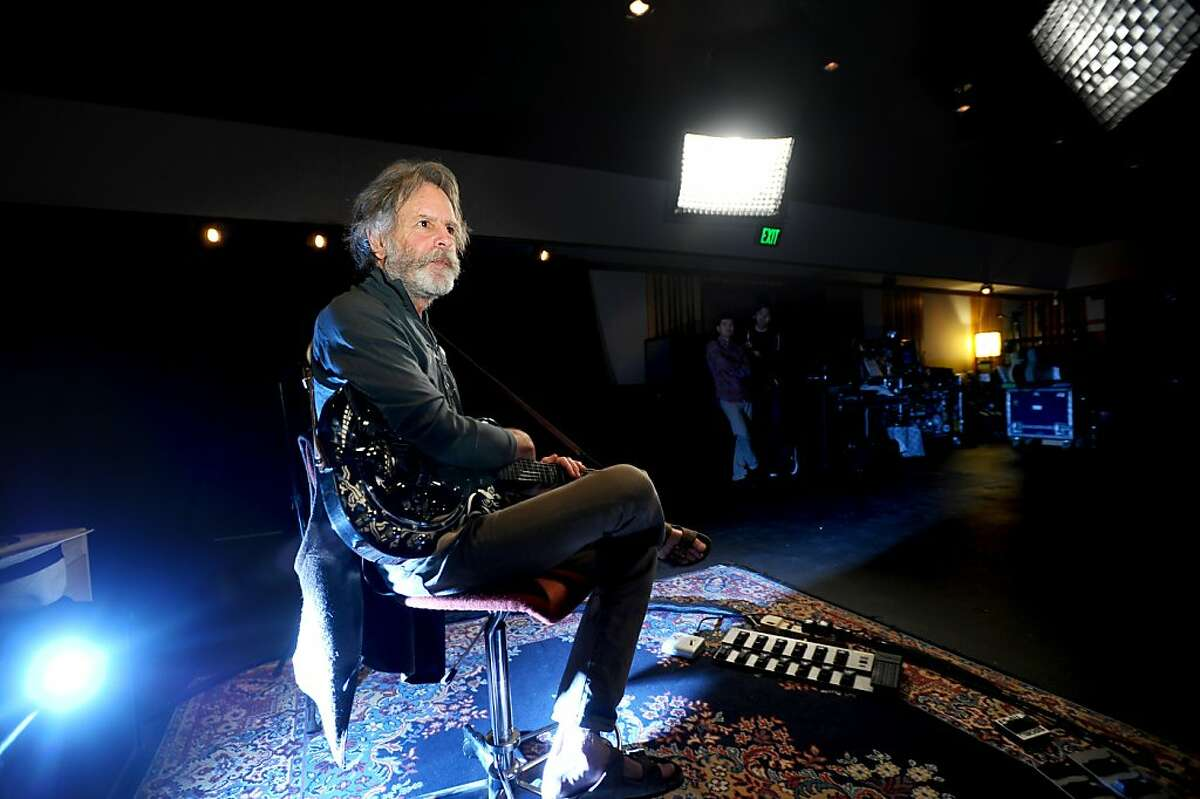 Bob Weir of the Grateful Dead discusses the main recording room at TRI Studios on Wednesday, May 26, 2011, in San Rafael, Calif.