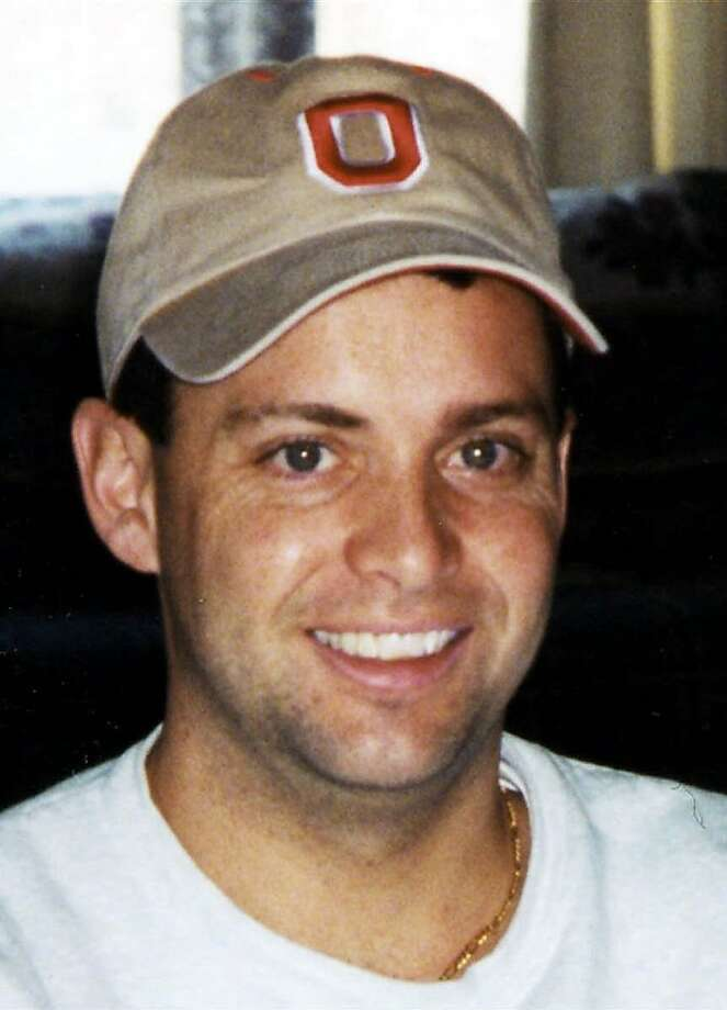 "FILE--Seen in an undated handout is United Airlines Flight 93 passenger Todd Beamer, whose famous last words, ""Let's roll,"" have become synonymous with American grit and determination, and also with the American desire to make a buck. A number of companies and individuals want to trademark the phrase to sell everything from fireworks to T-shirts.  (AP Photo/The Times of Trenton, HO) ALSO RAN 8/22/02Ran on: 04-12-2006 Todd Beamer made a last call to a phone operator who heard him shouting, &quo;The plane is going down!&quo; Photo: Ho, AP"